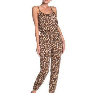 Socialite Leopard Jumpsuit